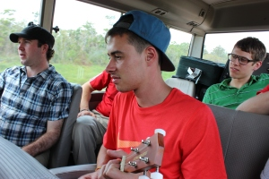 A Ukulele, A Bus, and Some Good Times